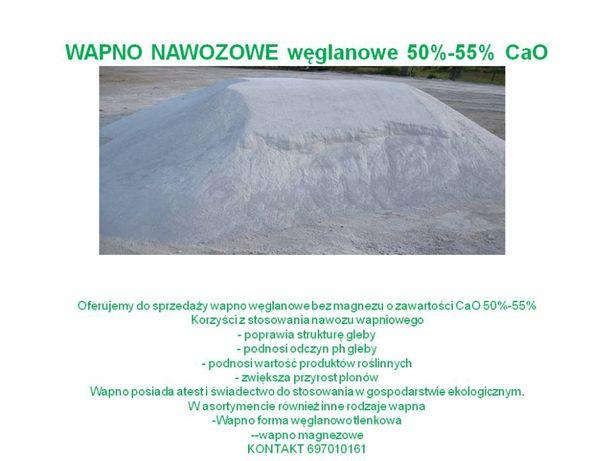 WAPNO NAWOZOWE węglanowe 55 % CaO
