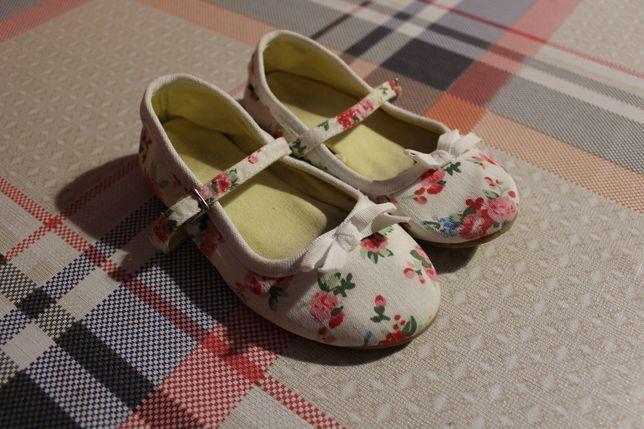 Zamienie buciki w kwiaty