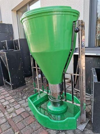 Tubomat dla warchlaków i tuczników 100l - pasza sucha i woda oddzielni