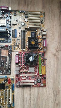 Płyty główne, procesory, ram
