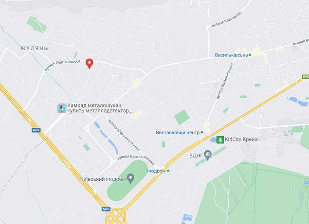 Продам земельный участок- дом Жуляны Соломенский район Мичурина