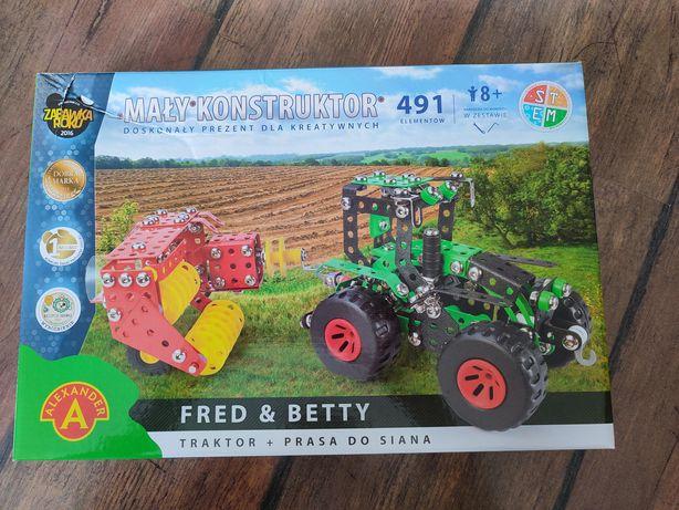 Mały konstruktor Traktor
