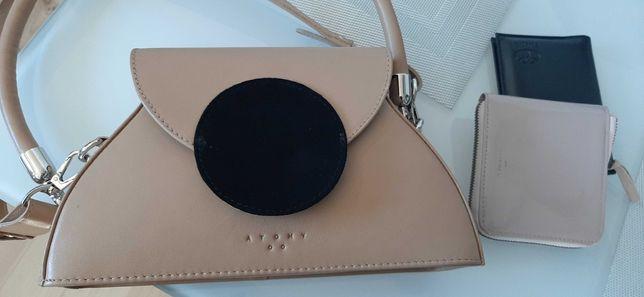 Atomy Dot Bag designerska minimalistyczna torebka