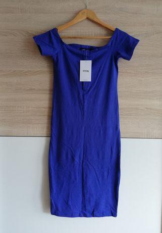 Nowa sukienka z odkrytym ramionami - sinsay 36