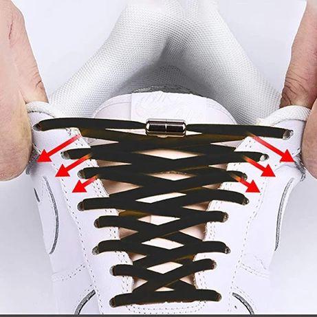 Эластичные шнурки ленивые тянущиеся кроссовки туфли ботинки женские