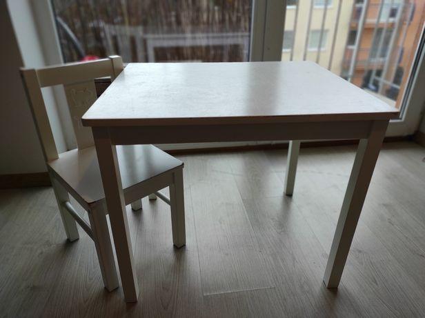 Stolik i krzeseło dziecięce SUNDVIK IKEA