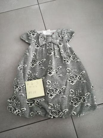 Sukienka rozmiar 6 - 9 miesięcy