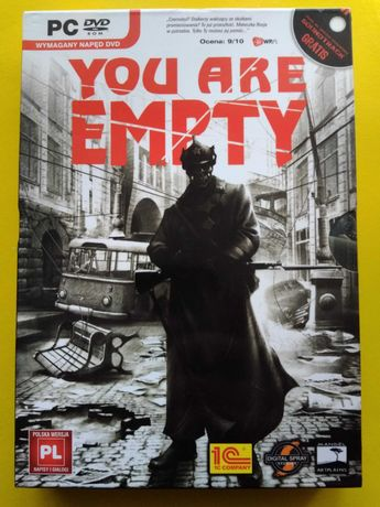 You Are Empty. PC DVD