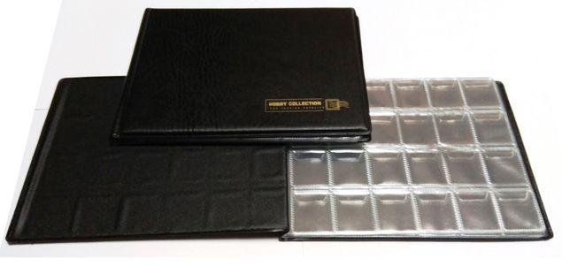 Альбом на 240 монет (30*30 мм) Hobby Collection