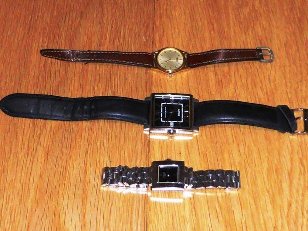 Conjunto de 3 Relógios de Pulso