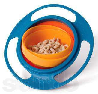 Чашка непроливайка Gyro Bowl - детская тарелка