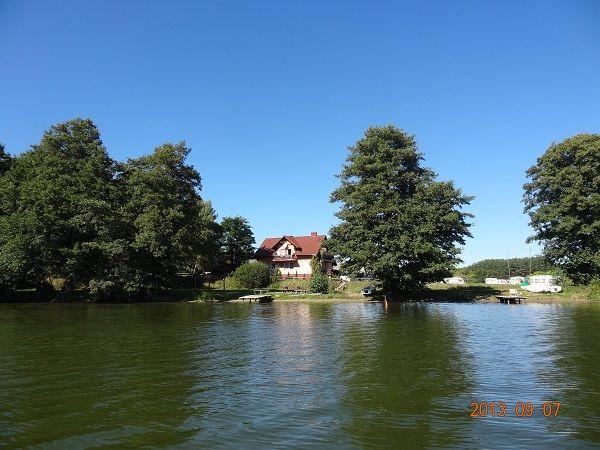 Agroturystyka nad jeziorem -noclegi ,Bory Tucholskie-Swornegacie-Owink