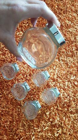 PORTES GRÁTIS - 6 Frascos de Vidro para Especiarias Ikea