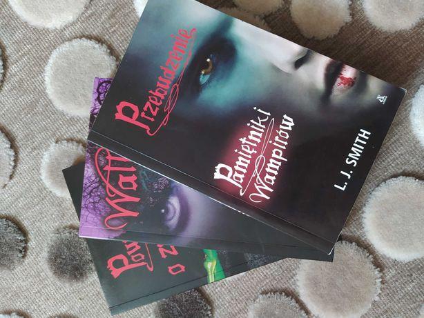 Książki. Pamiętniki wampirów Przebudzenie, Walka, Powrót o zmierzchu