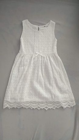 Śliczna koronkowa sukienka H&M
