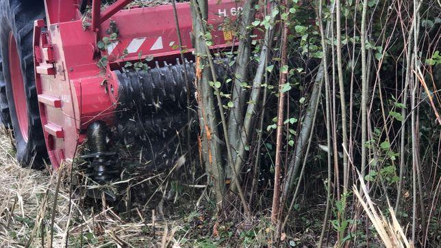 Usuwanie zadrzewień , zagajników zbiór z odzyskiem i zbiorem biomas
