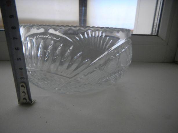 Хрусталь ваза салатница конфетница СССР