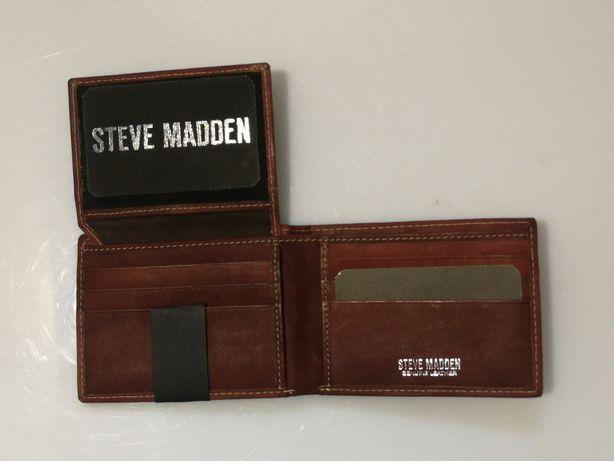 Portfel skórzany Steve Madden (nowy)