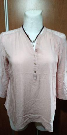 Bluzeczka z koronkowymi plecami, 44-46