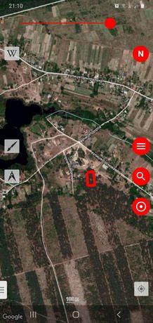 Участок 25 соток Киевская обл. с.Плесецкое участок под лесом.