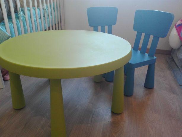 Mesa + 2 cadeiras MAMMUT IKEA