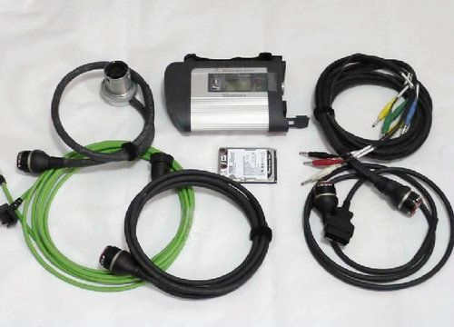 Дилерский сканер MB Star C4 (Mercedes Star Diagnosis Compact 4)