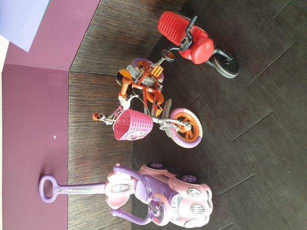 Rowerki dziecięce