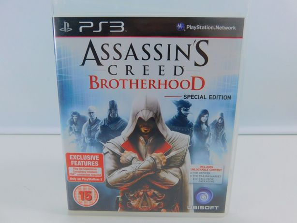 Gra PS3 ASSASSIN'S CREED BROTHERHOOD wersja pudełkowa igła