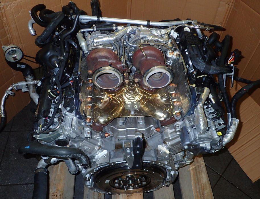 Motor Mercedes Benz AMG GT 4.0 biturbo