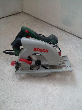 Пила дисковая Bosch PKS55
