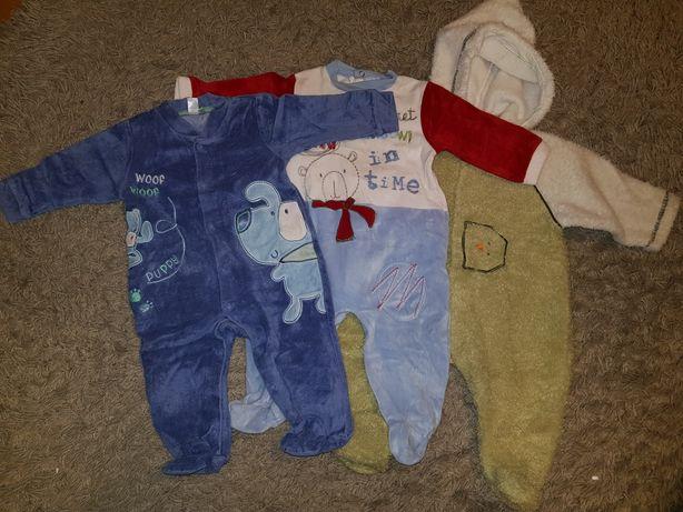 Mega paka ubrań dla chłopca 68 zestaw ubranek