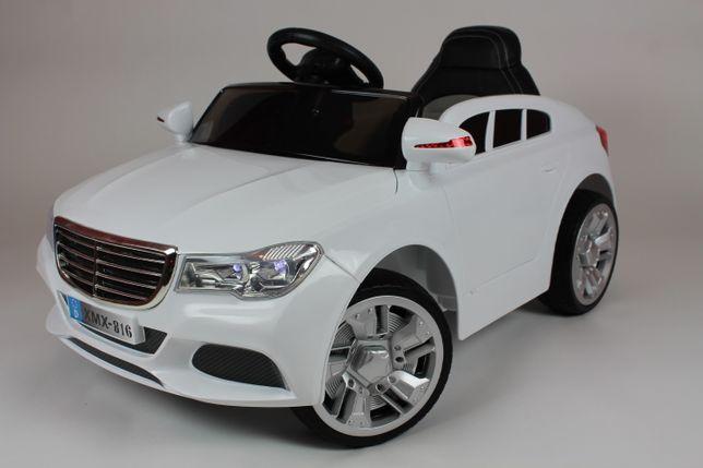 Samochód dla dzieci na akumulator Miękkie koła M12 biały