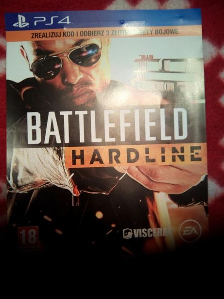 Battlefield Hardline Złote pakiety bojowe, PlayStation 4, Ps4(3x)
