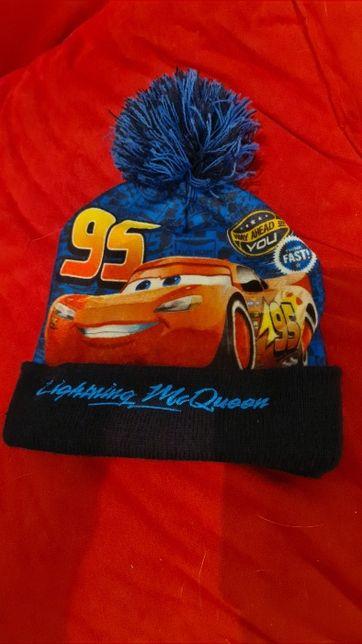 Świetna czapka na zimę Disney PIXAR AUTA McQueen