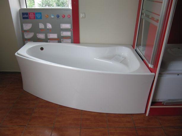 Ванна акрилова Cersanit Sicilia New 170 права, ліва + ніжки
