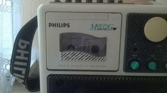 Radio -magnetofon retro Philips