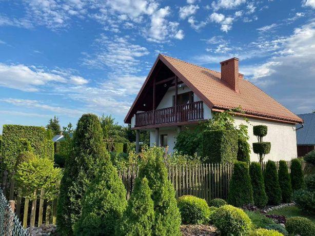 CAŁOROCZNY dom na działce ROD. Piękny ogród. 50 km od Warszawy