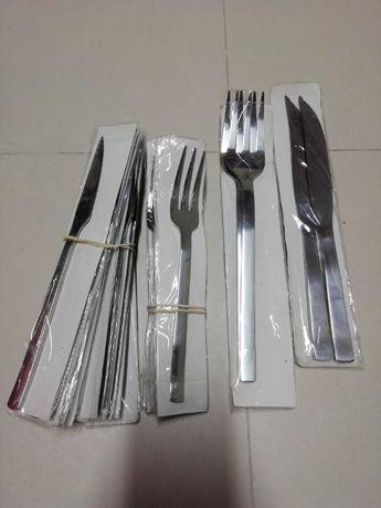 Conjunto para churrasco JN - novo e selado