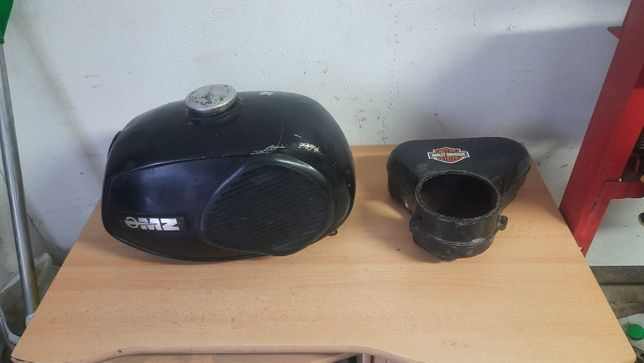 Bak Zbiornik paliwa MZ TS 250 filtr powietrza boczek etz 250 251