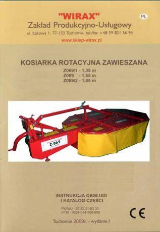 Katalog części kosiarka rotacyjna  Z 069