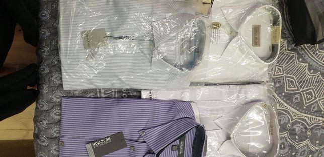 Продам рубашки мужские новые и б/у