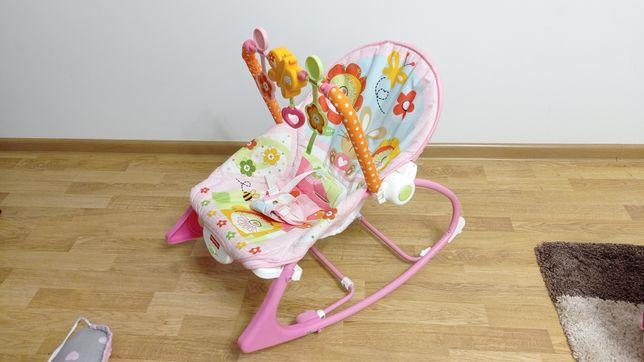 Крісло качалка шезлонг fisher price дитяче