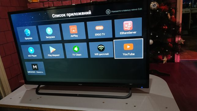 "Телевизор smart ERGO 32"""