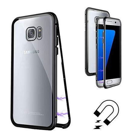 Магнитный чехол для Samsung Galaxy S7 Edge S8 S9 S10 Plus E Note 8 9