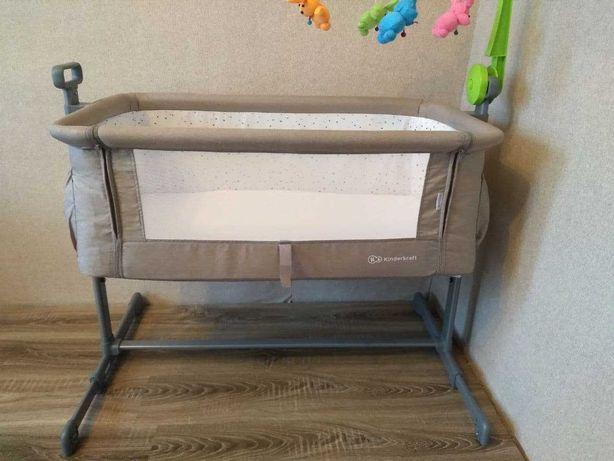 Детская приставная кроватка Kindekraft