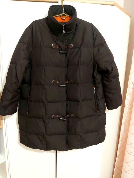 Bardzo ciepła puchowa duża  kurtka roz 50-52 Radziłów - image 1