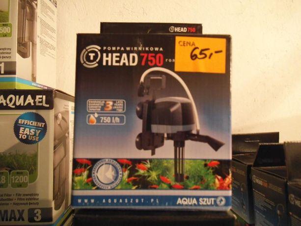 Aqua Szut Pompa wirnikowa 80-200 litrów T-HEAD 750 `Nowa