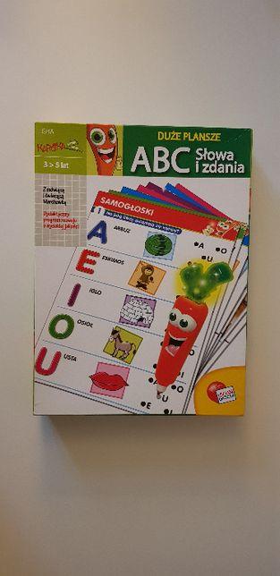 Marcheweczka marchewka ABC słowa i zdania Carotina gra edukacyjna