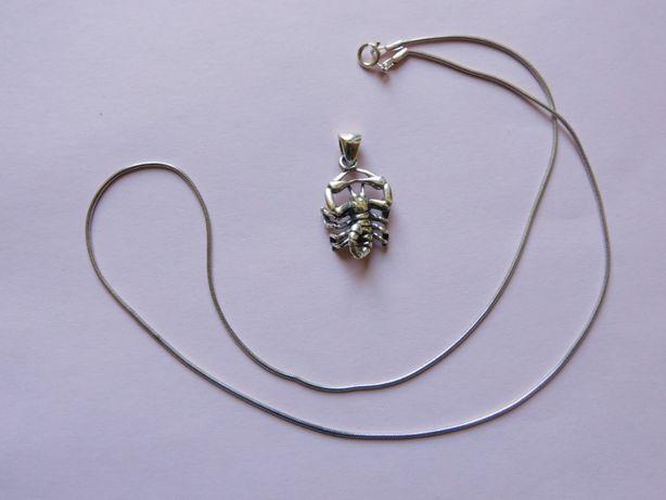 zawieszka znak zodiaku skorpion