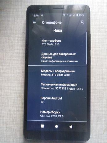 ZTE L210 телефон